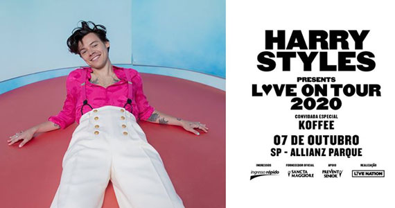 Allianz Parque recebe show do cantor Harry Styles