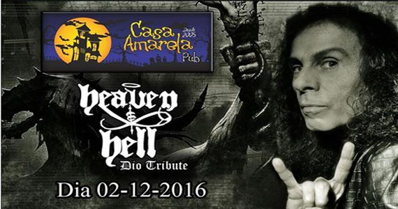 Casa Amarela Pub recebe o melhor do mestre Ronnie James Dio com o Heaven and Hell Dio Tribute  Eventos BaresSP 570x300 imagem