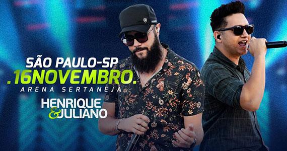 Henrique & Juliano realizam show na Arena Sertaneja Eventos BaresSP 570x300 imagem