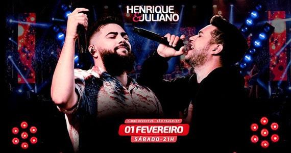 Henrique & Juliano fazem show único no Clube Juventus Eventos BaresSP 570x300 imagem