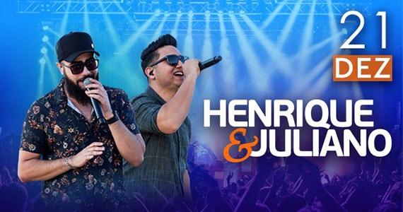 Henrique e Juliano se apresentam no palco do Espaço das Américas Eventos BaresSP 570x300 imagem