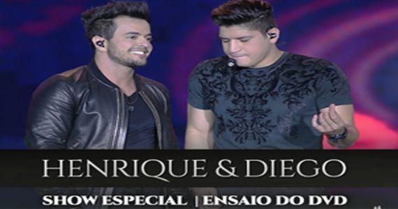 A dupla sertaneja Henrique e Diego fazem show de ensaio para a gravação do DVD no Villa Mix Eventos BaresSP 570x300 imagem