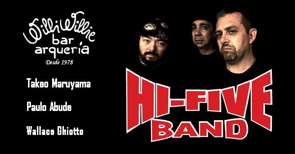 Programação - Hi-Five Band (Classic Rock)