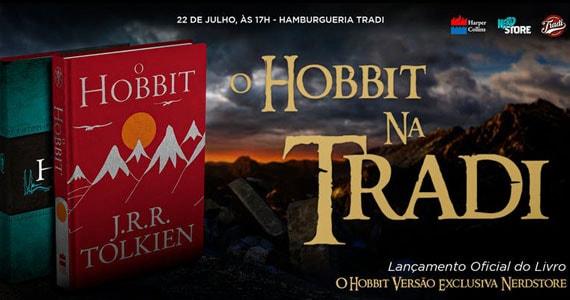 Lançamento do livro O Hobbit com menu exclusivo de hambúrgueres da Tradi Eventos BaresSP 570x300 imagem
