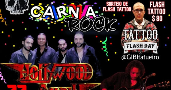 Banda Hollywood Again no Caveira Negra