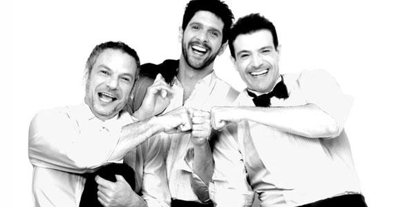 Teatro Fernando Torres é sacudido por gargalhadas pela peça Homens no Divã Eventos BaresSP 570x300 imagem
