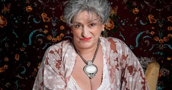 Grace Gianoukas promete cativar o público com a comédia Hortance, A Velha no Teatro Folha Eventos BaresSP 570x300 imagem