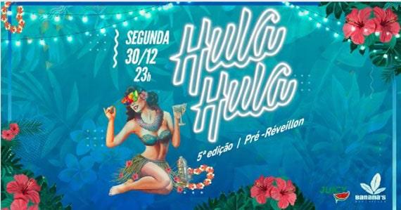 Pré-Réveillon com a Festa Hula Hula no Banana's Beach Eventos BaresSP 570x300 imagem