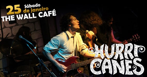 Hurricanes Rock volta ao palco do The Wall Café com o classic rock