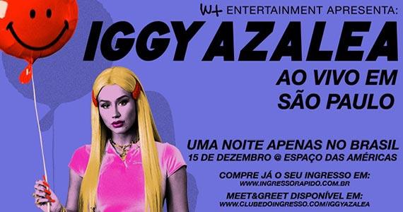 Iggy Azalea realiza show único no Espaço das Américas Eventos BaresSP 570x300 imagem