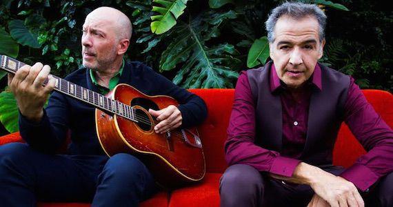 Edgard Scandurra e Nasi apresentam o show Ira! Folk no palco do Teatro Bradesco Eventos BaresSP 570x300 imagem