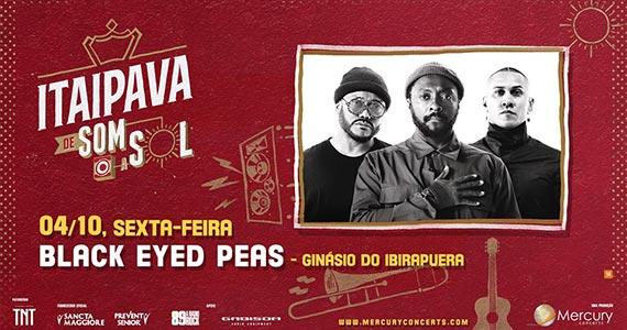 Black Eyes Peas participa da Itaipava de Som a Sol no Ginásio do Ibirapuera Eventos BaresSP 570x300 imagem
