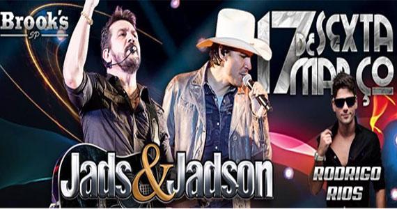 Muito carisma com o show da dupla Jad & Jadson e Rodrigo Reys na Brooks Eventos BaresSP 570x300 imagem