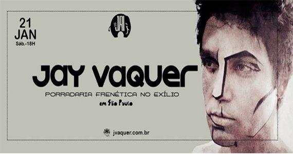 O cantor e compositor Jay Vaquer apresenta no Jai Club o seu mais recente trabalho Canções de Exílio Eventos BaresSP 570x300 imagem