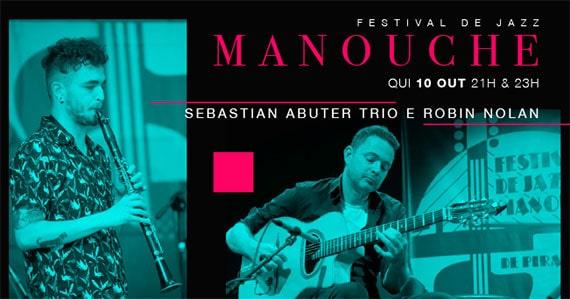 Jazz nos Fundos apresenta Sebastian Abuter trio e Robin Nolan Eventos BaresSP 570x300 imagem
