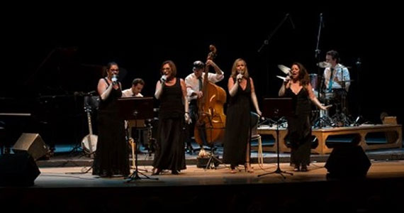 O quarteto vocal, Jazzy Ladies, interpreta standards de Jazz no Ao Vivo Music Eventos BaresSP 570x300 imagem