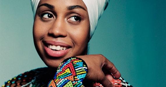 Cantora americana Jazzmeia Horn apresenta show contagiante no Teatro Bradesco Eventos BaresSP 570x300 imagem