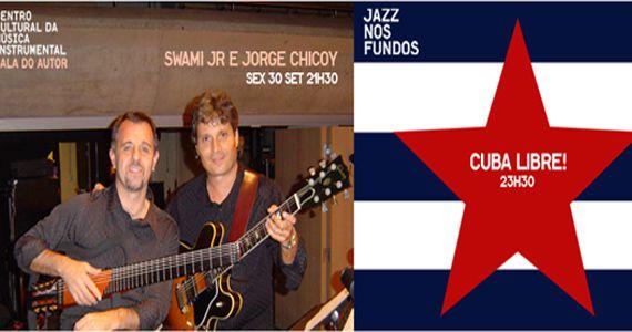 Noite cubana agita Jazz nos Fundos com Swami Jr, Jorge Chicoy e Ricardo Castellano Eventos BaresSP 570x300 imagem