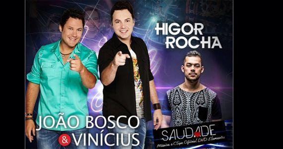 João Bosco & Vinicius mais o lançamento do DVD Elementos do cantor Higor Rocha na Brooks Eventos BaresSP 570x300 imagem