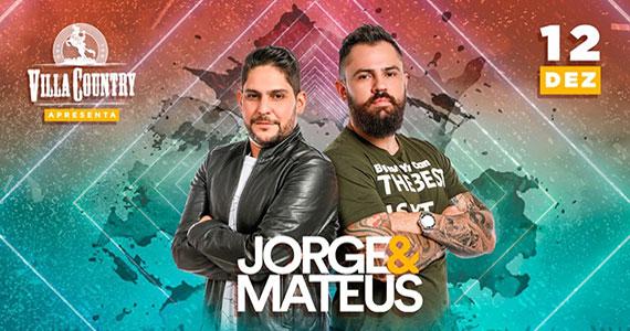 Jorge e Mateus realizam show no Villa Country Eventos BaresSP 570x300 imagem