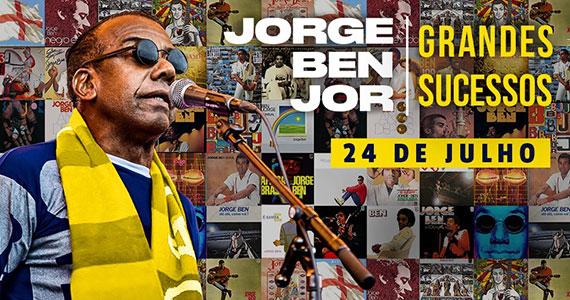 Jorge Ben Jor apresenta novo show no palco do Espaço das Américas Eventos BaresSP 570x300 imagem