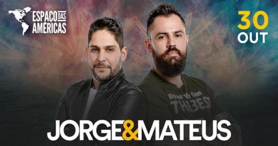 Jorge & Mateus faz show da sua turnê no Espaço das Américas Eventos BaresSP 570x300 imagem