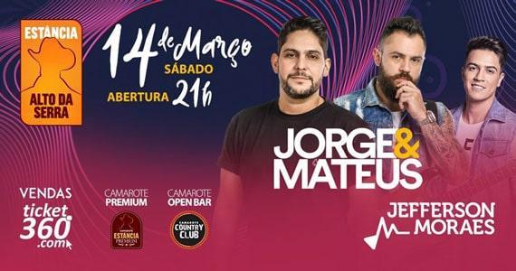 Jorge & Mateus e Jefferson Moraes realizam show na Estância Eventos BaresSP 570x300 imagem