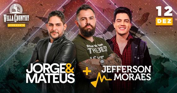 Jorge & Mateus e Jefferson Moraes realizam show no Villa Country Eventos BaresSP 570x300 imagem