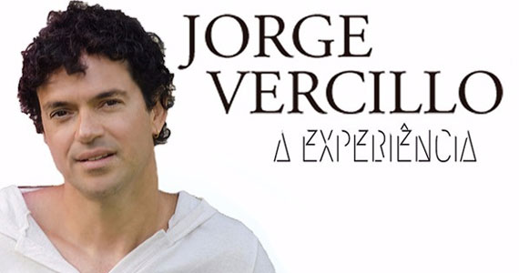 O cantor Jorge Vercillo se apresenta no dia 01 de junho com a turnê Experiência no Tom Brasil Eventos BaresSP 570x300 imagem