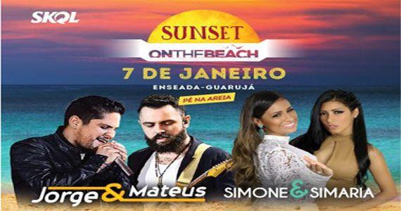 O sertanejo das duplas Jorge & Matheus e Simone & Simaria invadem a Arena Verão  Eventos BaresSP 570x300 imagem