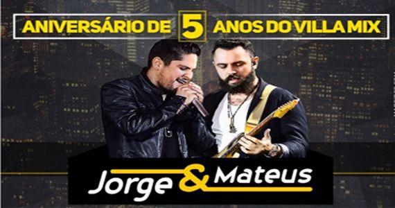 Jorge & Matheus cantam os seus maiores sucessos no aniversário de 5 anos do Villa Mix Eventos BaresSP 570x300 imagem