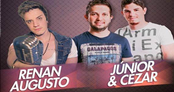 Com repertório atualizado a dupla Junior & Cézar e o cantor Renan Augusto se apresentam no Villa Mix Eventos BaresSP 570x300 imagem