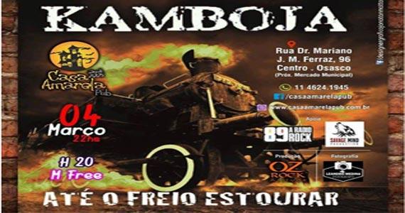 O rock pesado e bem humorado da banda Kamboja invade a Casa Amarela Pub Eventos BaresSP 570x300 imagem
