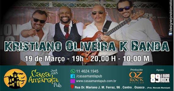 Kristiano Oliveira K Banda animando o domingo na Casa Amarela Pub  Eventos BaresSP 570x300 imagem