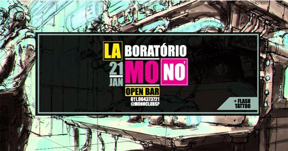 Sábado é dia de Laboratório Mono com o DJ Formalize, Drinks Moleculares e Tattoos no Mono Club Eventos BaresSP 570x300 imagem