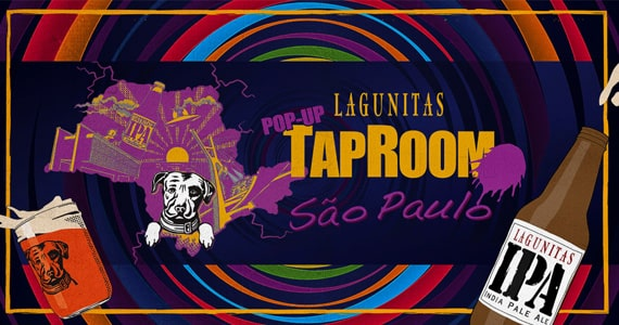 Lagunitas Brewing Company abre Pop Up Tap Room em São Paulo Eventos BaresSP 570x300 imagem