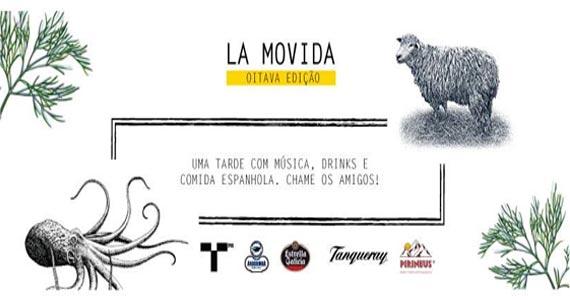 Torero Valese recebe a 8ª edição da Festa La Movida com muita música, drinks e cultura espanhola Eventos BaresSP 570x300 imagem