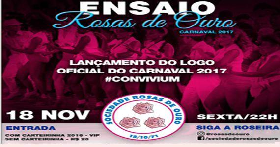 Lançamento do logo enredo oficial do Carnaval 2017 Convivium. Sente-se à mesa e saboreie na quadra das Rosas de Ouro Eventos BaresSP 570x300 imagem
