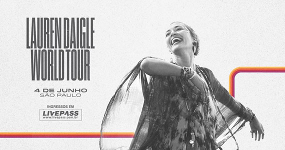 Lauren Daigle apresenta Lauren Daigle World Tour no Espaço das Américas Eventos BaresSP 570x300 imagem