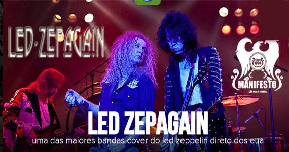Led Zepagain uma das maiores bandas cover do Led Zeppelin no Manifesto Rock Bar Eventos BaresSP 570x300 imagem