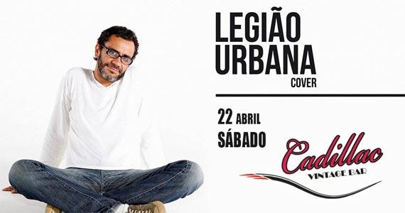 Tributo ao Legião Urbana com o cantor Renato Nascimento no Cadillac Vintage Bar Eventos BaresSP 570x300 imagem