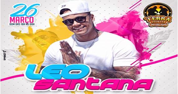 O cantor Léo Santana dono do sucesso Rebolation agita o palco do Terra Country, neste domingo Eventos BaresSP 570x300 imagem
