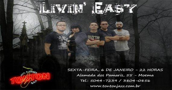 Banda Livin' Easy e Kraker tocam o melhor do pop rock e classic rock no Ton Ton Jazz & Music Bar Eventos BaresSP 570x300 imagem