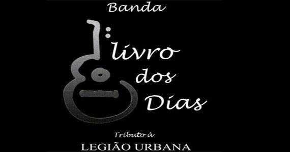 Tributo ao Legião Urbana com a banda Livro dos Dias no Studio Rock Café Eventos BaresSP 570x300 imagem