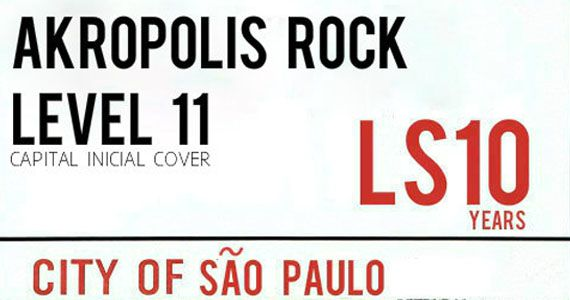 Banda Akropolis Rock e Level 11 com Capital Inicial Cover no London Station Eventos BaresSP 570x300 imagem