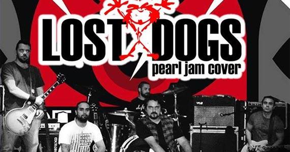 A Banda Lost Dogs apresenta com toda fidelidade os singles de um dos maiores nomes do rock dos anos 90, Pearl Jam, no The Square Open Mall Eventos BaresSP 570x300 imagem