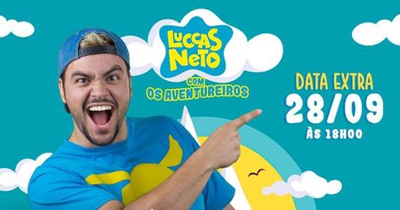 Luccas Neto realiza show Os Aventureiros para a família no Espaço das Américas Eventos BaresSP 570x300 imagem