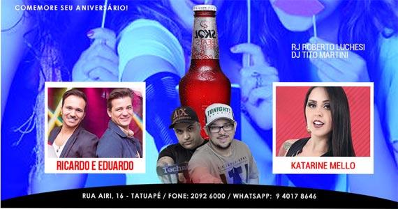 O Melhor do Sertanejo ao vivo com Ricardo & Eduardo e Katarine Mello no Maavah Bar Eventos BaresSP 570x300 imagem