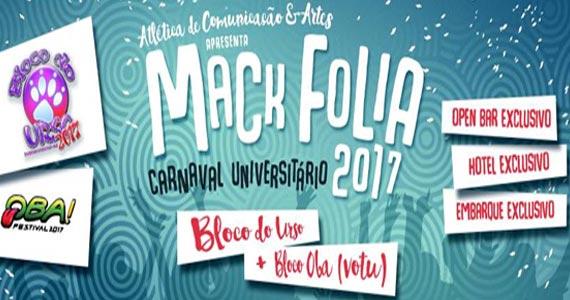 Mack Folia 2017 - Carnaval de Votu (Bloco Oba) e Bloco do Urso na Atlética de Comunicação Mackenzie Eventos BaresSP 570x300 imagem