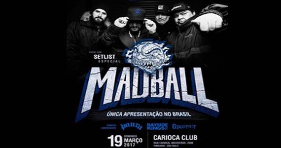 A banda nova iorquinha Madball volta ao Brasil e faz única apresentação no Carioca Club Eventos BaresSP 570x300 imagem